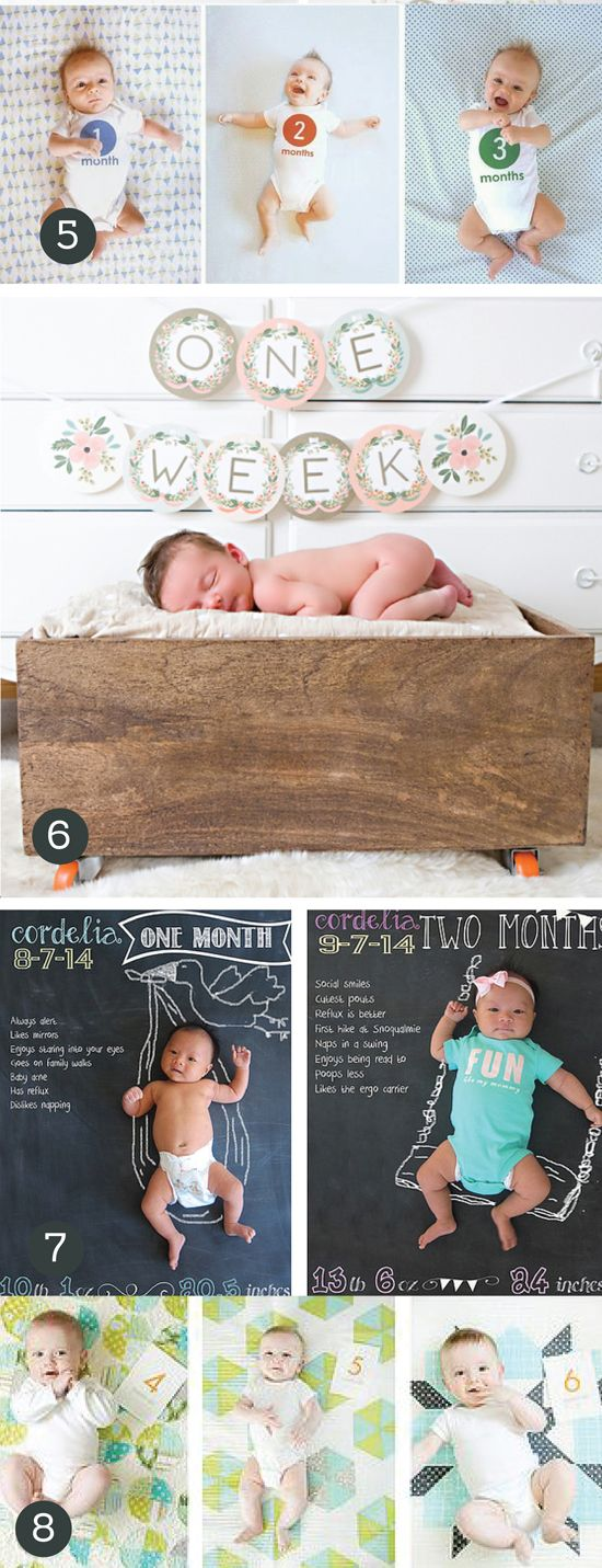 Adorable-Monthly-Baby-Photo-Ideas.jpg 550×1,431 pixels