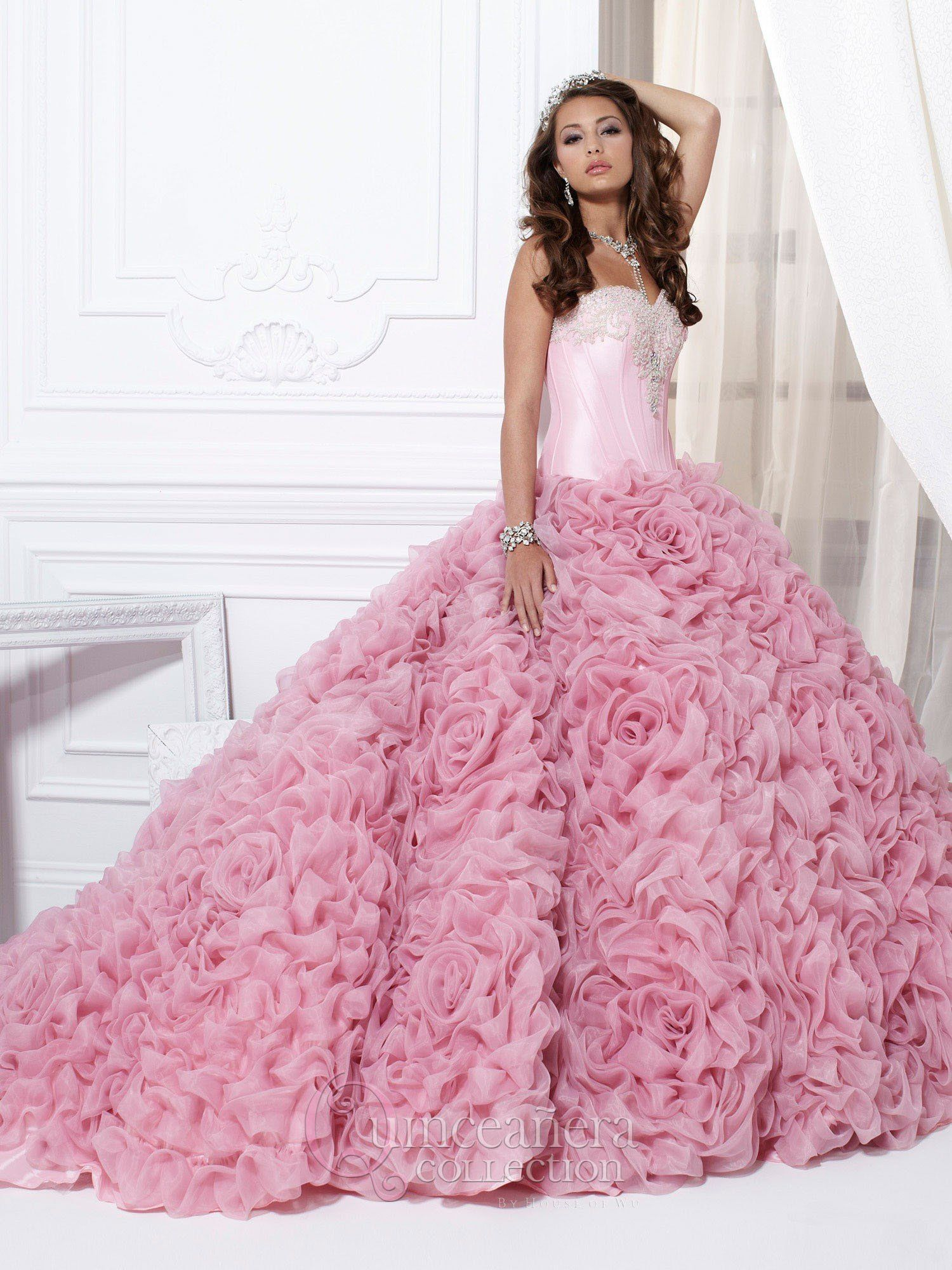 Quinceanera Dress 26702 House of Wu | Quinceanera collection, Full ...