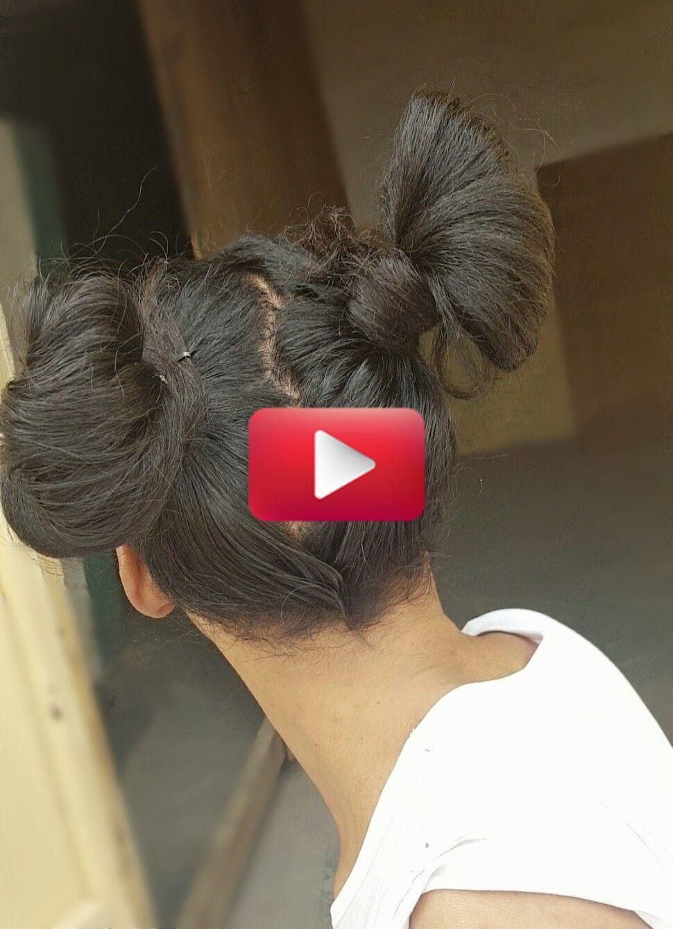 Casa JA   homify   Bun hairstyles, Two buns hairstyle, Big bun hair