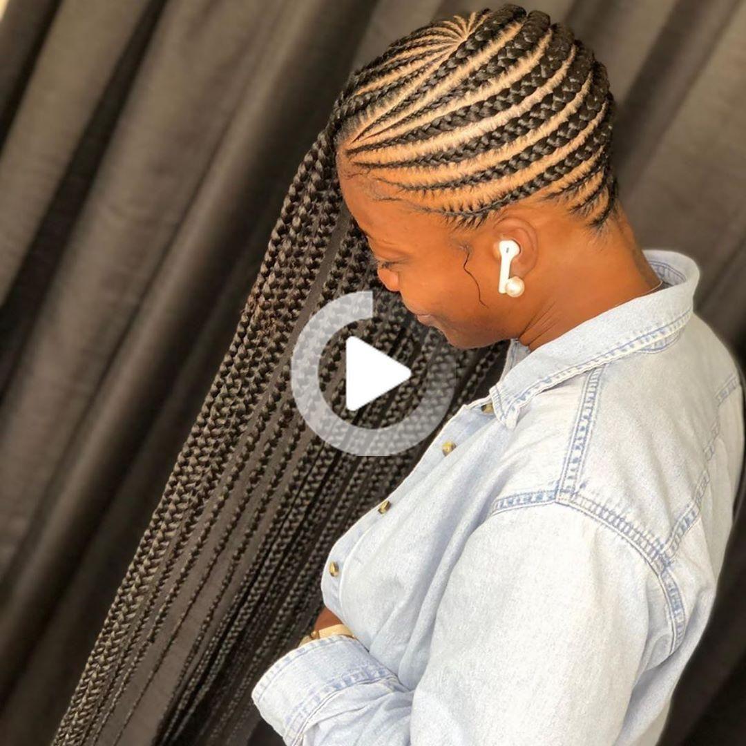 Pin By Nyyasiaa On Hair In 2020 Lemonade Braids