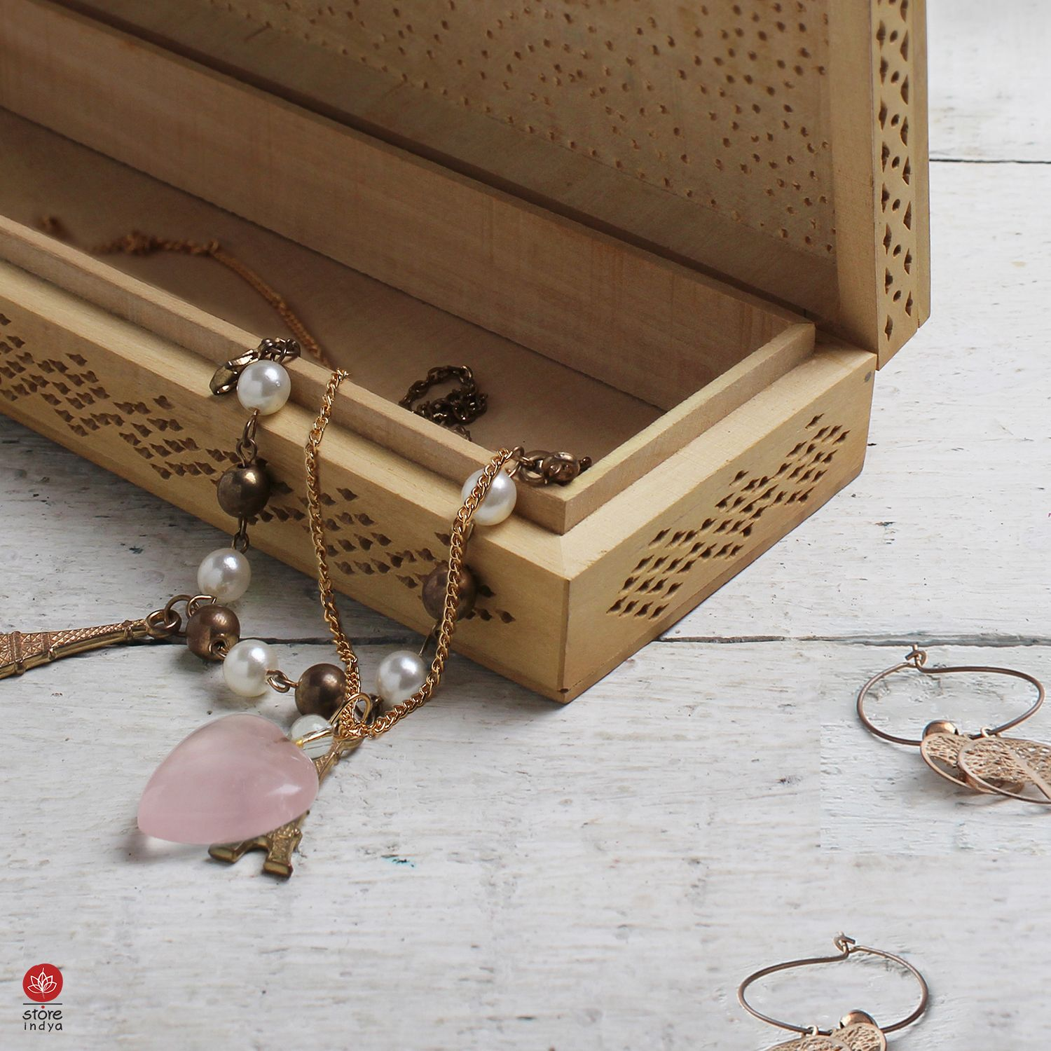 Store Indya Amazon Ca Here S A Multi Utility Box For Your Precious Little Everythings Utility Utilitybox Pe Jewelry Box Utility Box Mother S Day Gifts