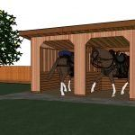 10x20 Shed Plans DIY Lean to Shed