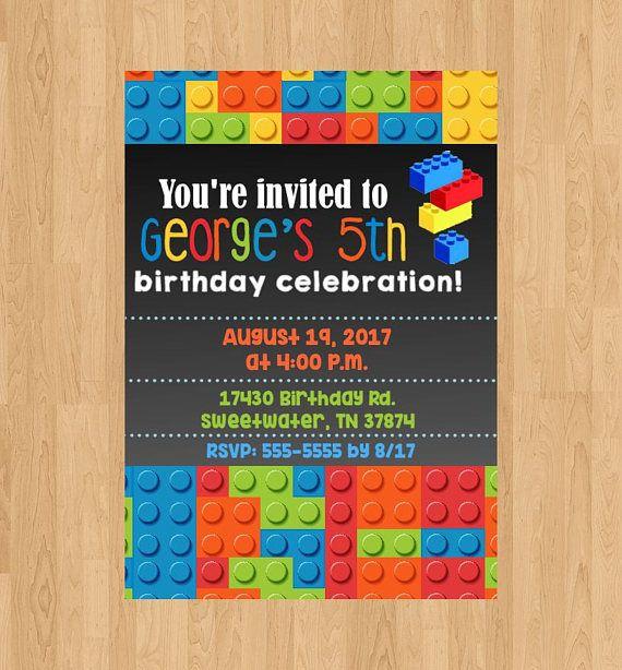 Lego invitationlego birthdaylego partydigital invitationprinted lego invitationlego birthdaylego partydigital invitationprinteddo it yourselfbirthdayinvite solutioingenieria Choice Image