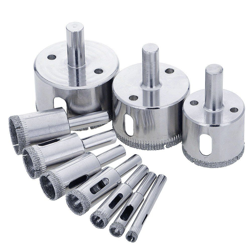 Blendx diamond drill bits glass and tile hollow core drill bits blendx diamond drill bits glass and tile hollow core drill bits extractor remover tools hole dailygadgetfo Images