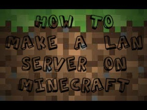 How To Make A LAN Minecraft Server Httpdancedancenowcom - Minecraft server erstellen pe ios