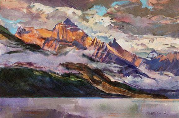 Brent Laycock Artist Art Landscape Paintings Canadian Art