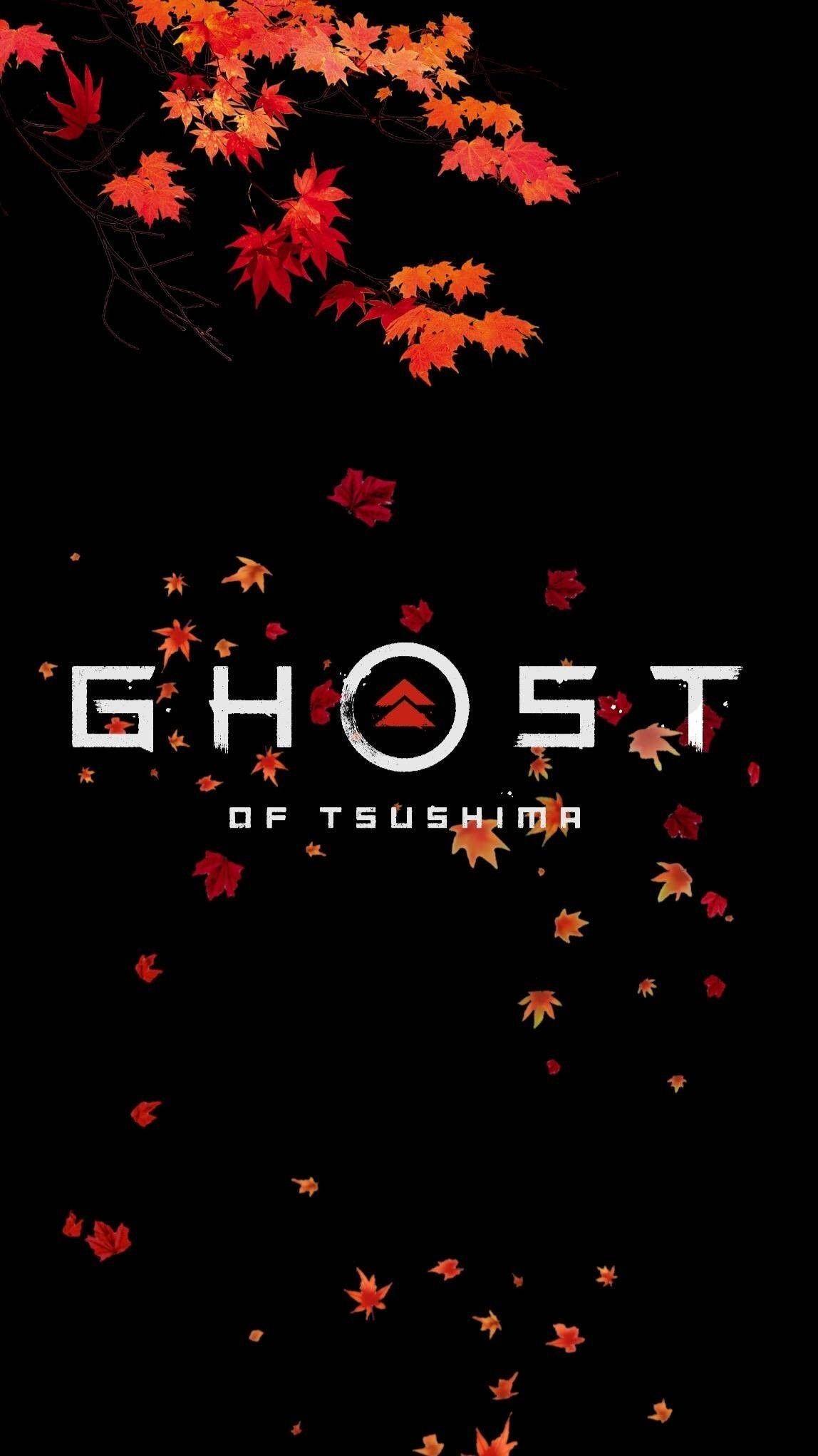 Jeux Video Ghost Of Tsushima Ghost Tsushima Iphone 4k ghost of tsushima logo