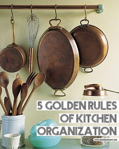 Martha S Top Kitchen Organizing Tips Organization And