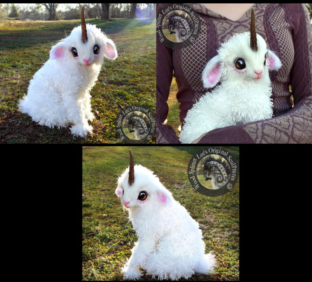 Hand Made Poseable Fantasy Baby Unicorn! by Wood-Splitter ...