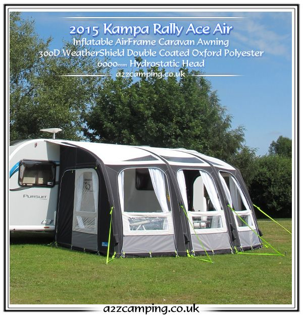 2016 K&a ACE Air 500 Inflatable Luxury Awning & 2016 Kampa ACE Air 500 Inflatable Luxury Awning | Campertrailors ...