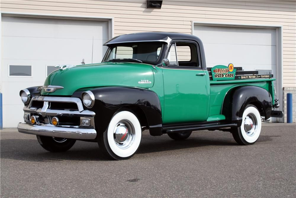 1954 CHEVROLET 3100 PICKUP Maintenance/restoration of old/vintage ...