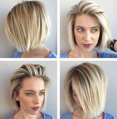 30 Trendy Hairstyles Straight Hair Textured Bob
