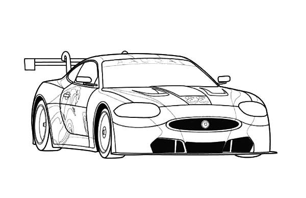 Jaguar Rsr Sports Cars Coloring Pages Bulk Color Cars Coloring Pages Jaguar Jaguar Car