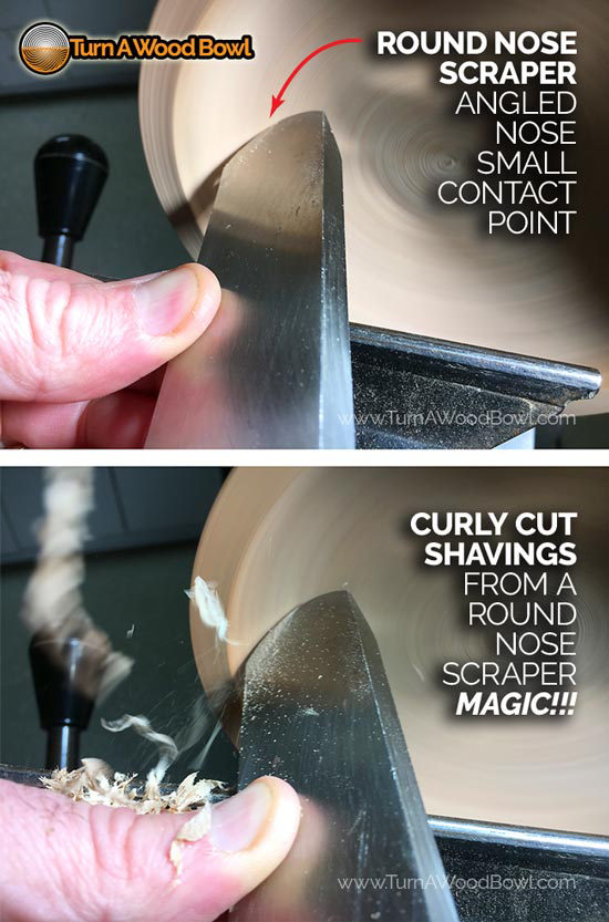 3 Surprising Round Nose Scraper Hacks Fix Inside Curves Turn A Wood Bowl Wood Turning Wood Turning Lathe Wood Turning Projects