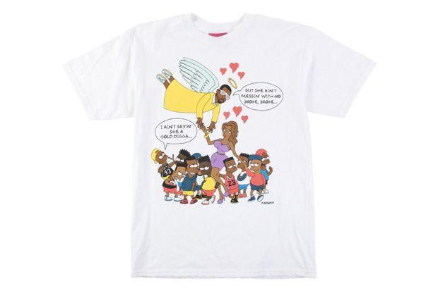 Image of Mishka Gold Digger Black Bart T-Shirt