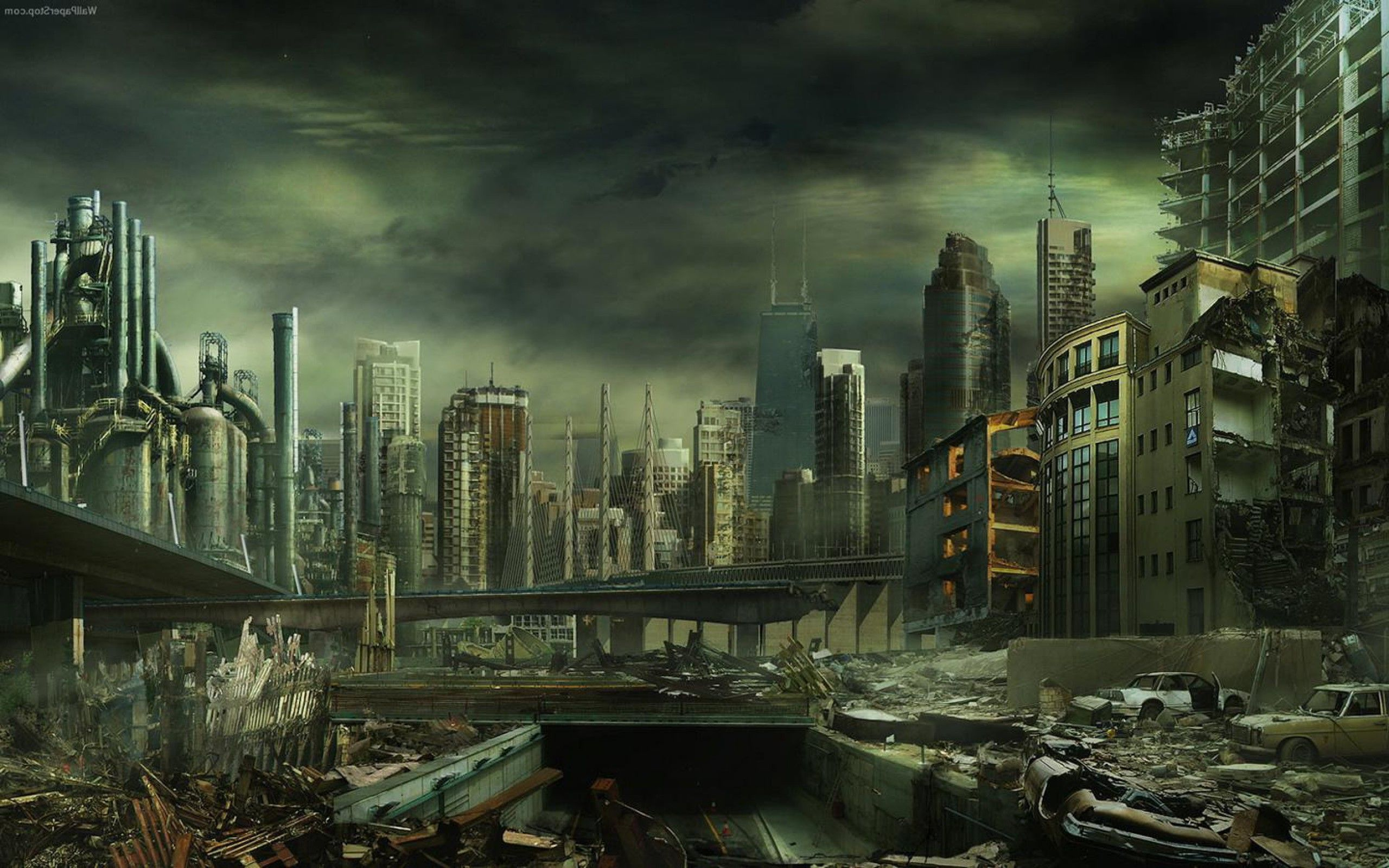 Destroyed City Backgrounds City Background City Wallpaper Background Images