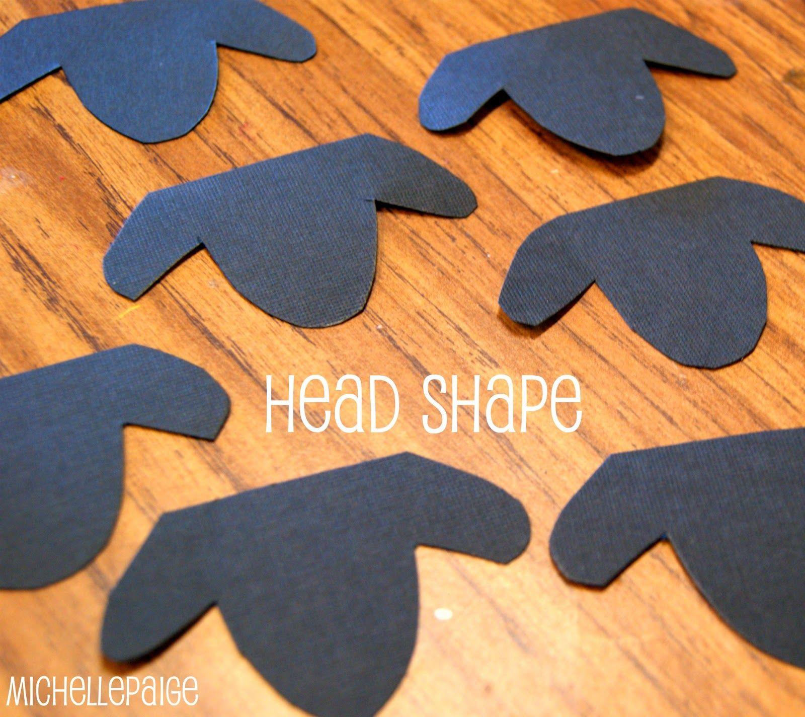 head shape idea for lamb craft teacher things pinterest head