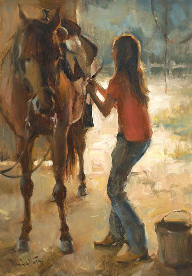 John Lasater - Rachel and Rio- Oil - Painting entry - July 2012 | BoldBrush Painting Competition