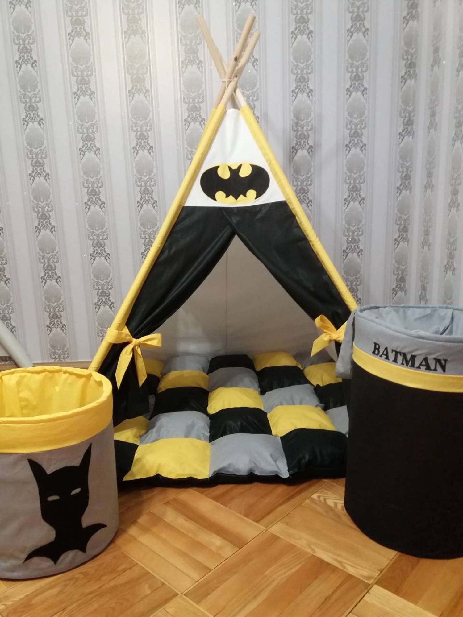 Teepee Set Teepee Tent Teepee For Superheroes Batman