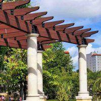 How To Build A Pergola In 2020 Pergola Building A Pergola Backyard Pergola