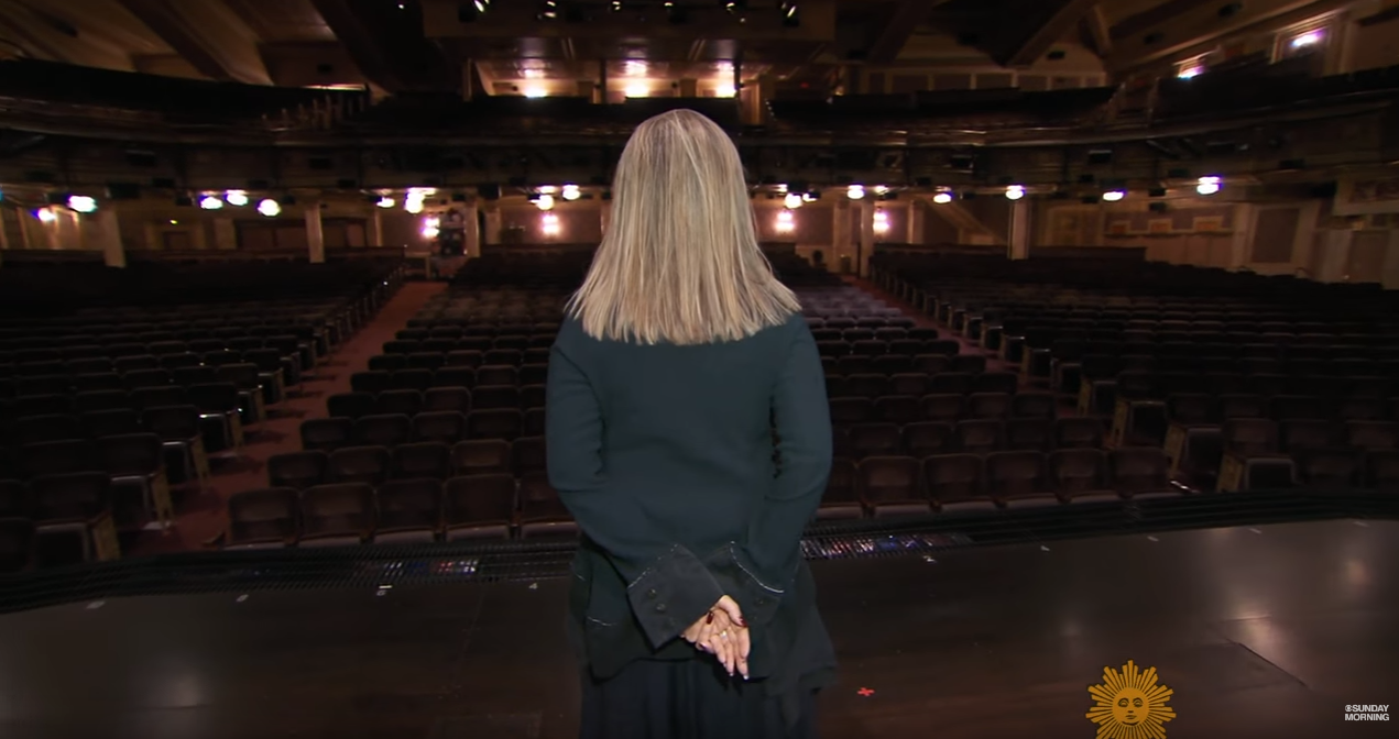 back winter garden theater 8 28 16 cbs sunday morning barbra
