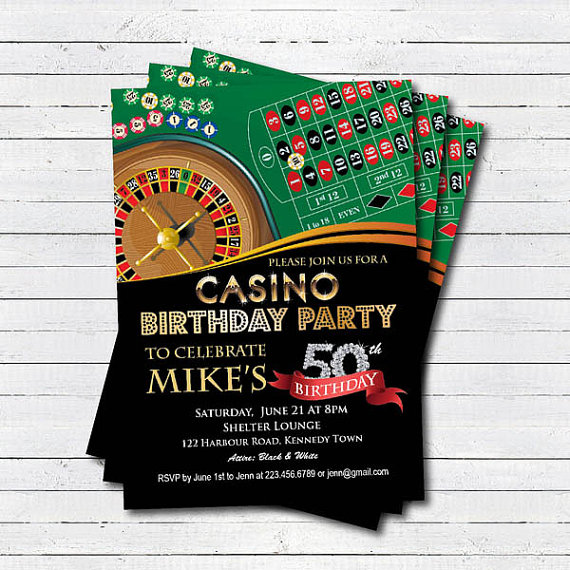 Casino 50th birthday invitation adult man birthday surprise party casino 50th birthday invitation adult man birthday surprise party printable digital invitation las vegas theme party ab042 filmwisefo