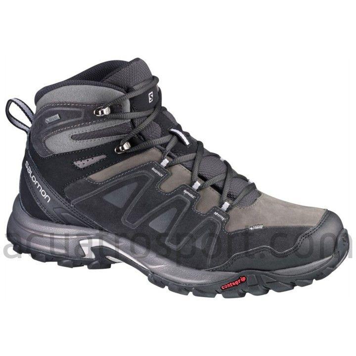 calzado trekking hombre salomon negro