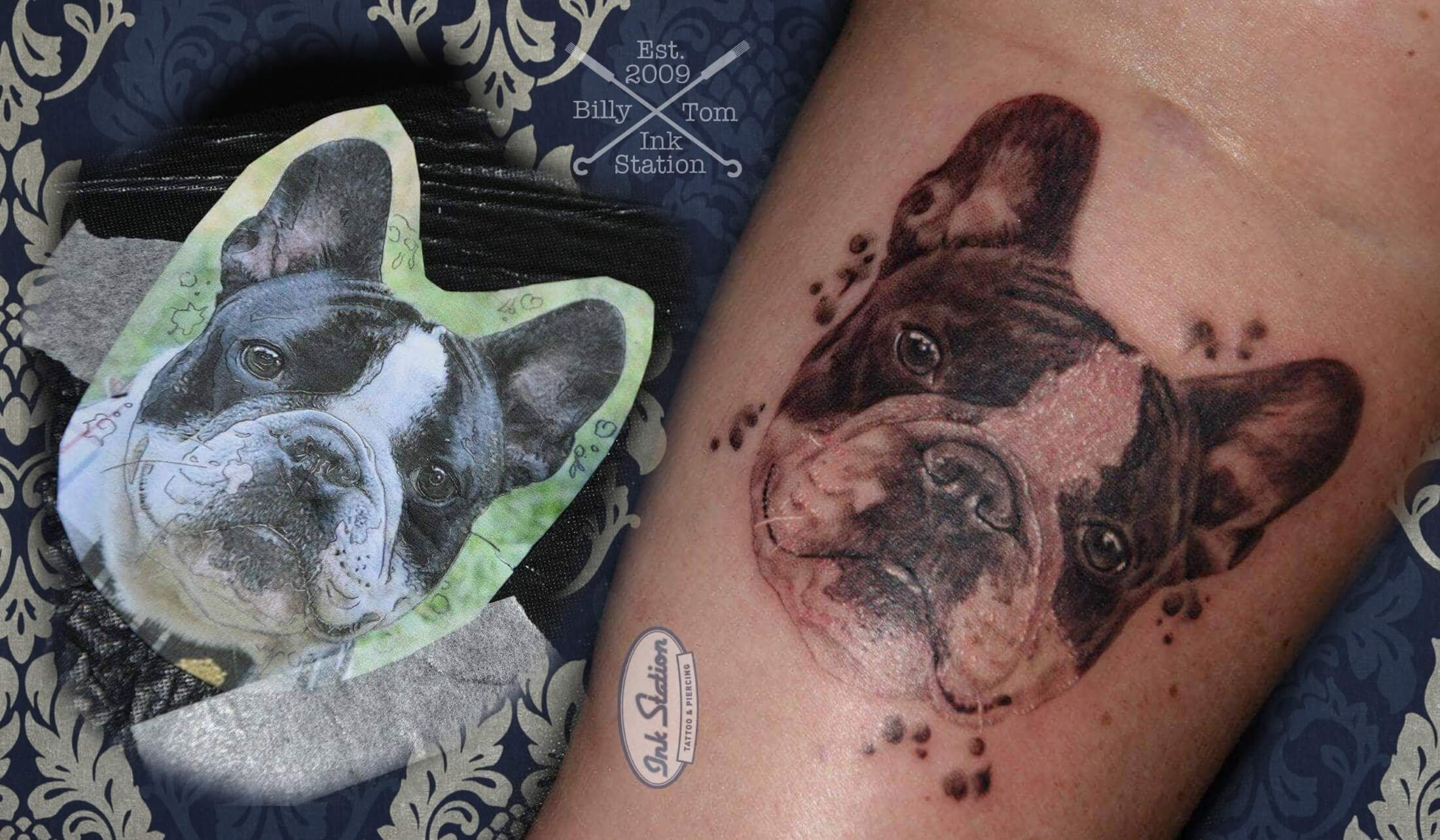 Fanzosen Bully Tattoo From Billy From The Ink Station Www Ink Station Net Www Tattooentfernung Stuttgart Com Www C Tattoo Stuttgart Tiertattoos Tattoo Magazin