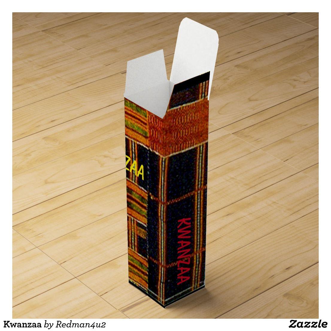 Kwanzaa Wine Box