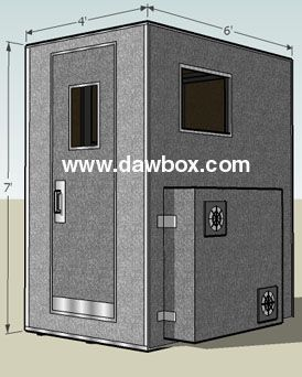D I Y Recording Booth Plans With Images Recording