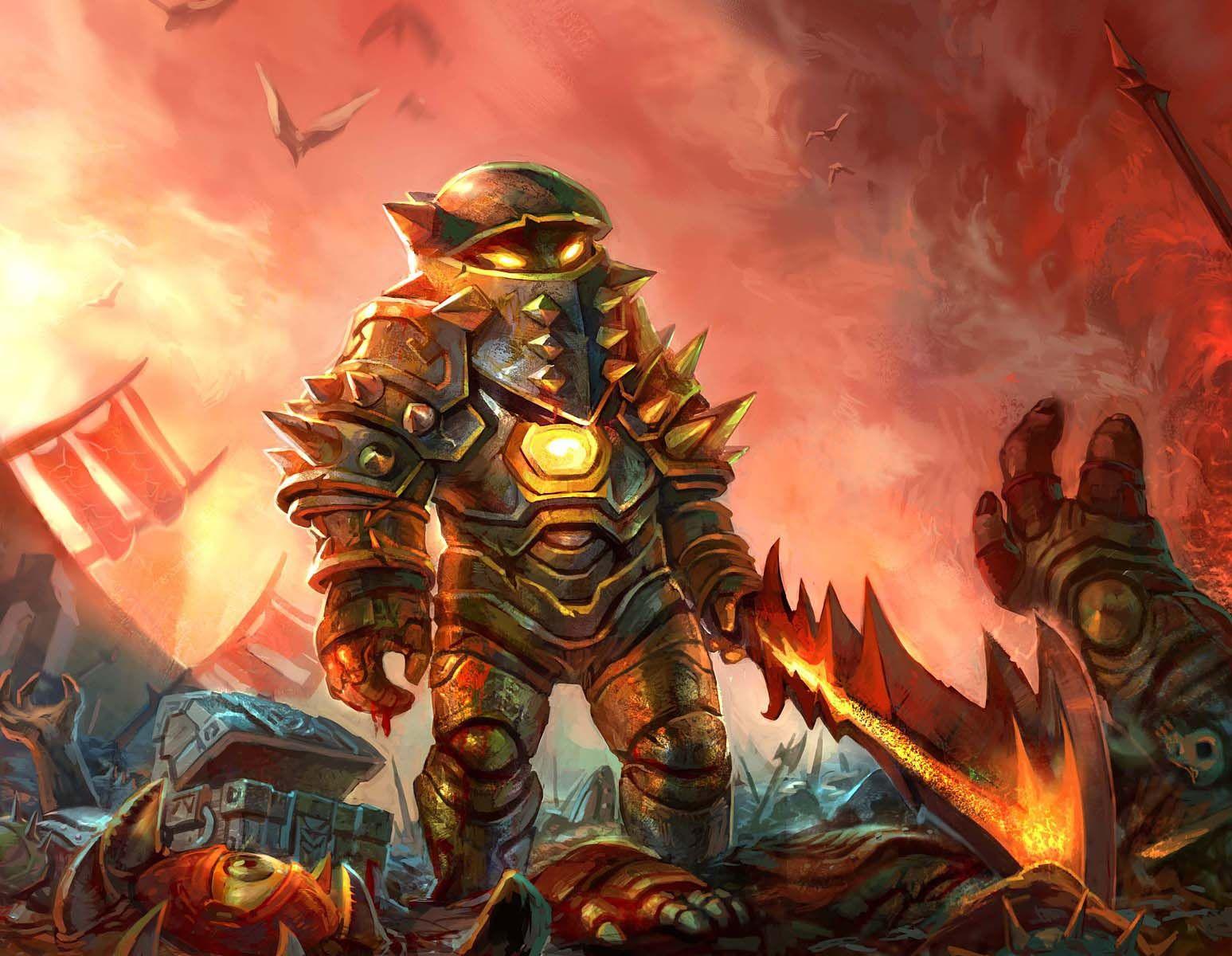 #wowtcg #warcraft #warrior #guerrier