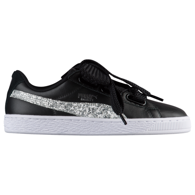 finest selection 7378e 9094b PUMA Basket Heart Glitter - Women's | Back to School 2018 ...