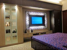 surprising bedroom designs tv wardrobe | Image result for bedroom wardrobe designs with tv unit ...
