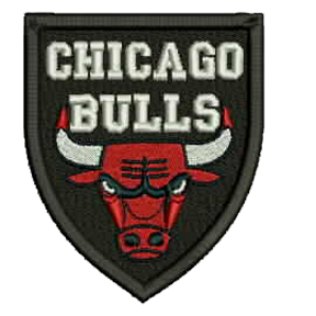 Chicago Bulls Embroidered Patch Embroidered Patches Chicago Bulls Embroidered