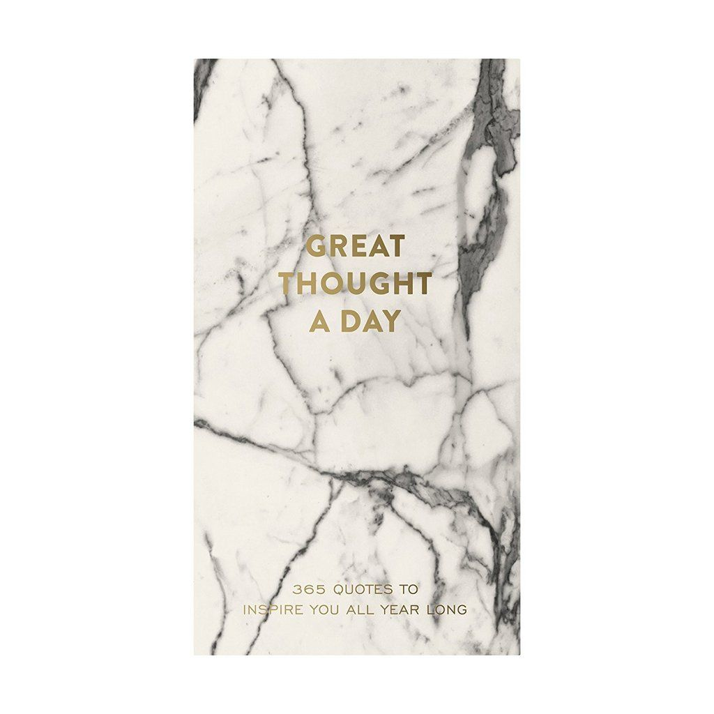 Oprah 12 Days Of Christmas.Great Thought A Day Inspirational Notebook In Marble The
