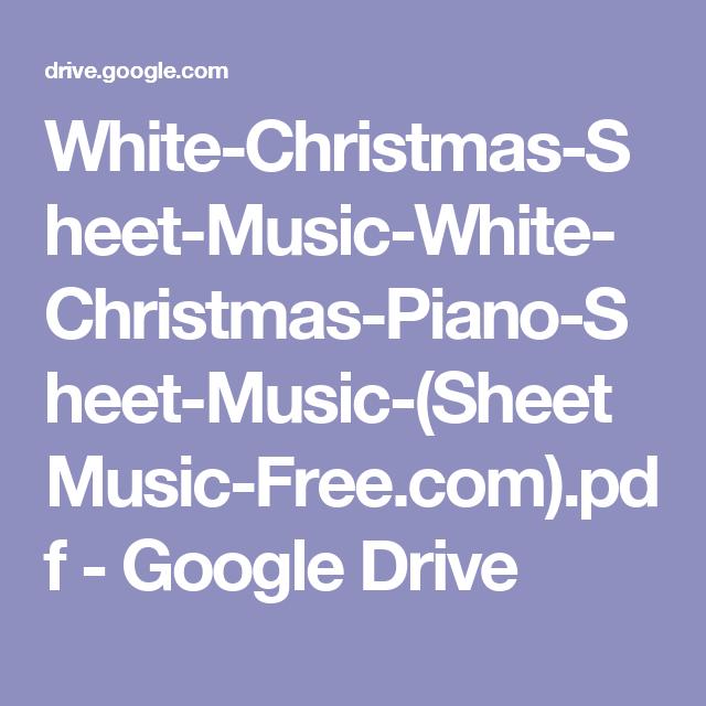 White-Christmas-Sheet-Music-White-Christmas-Piano-Sheet