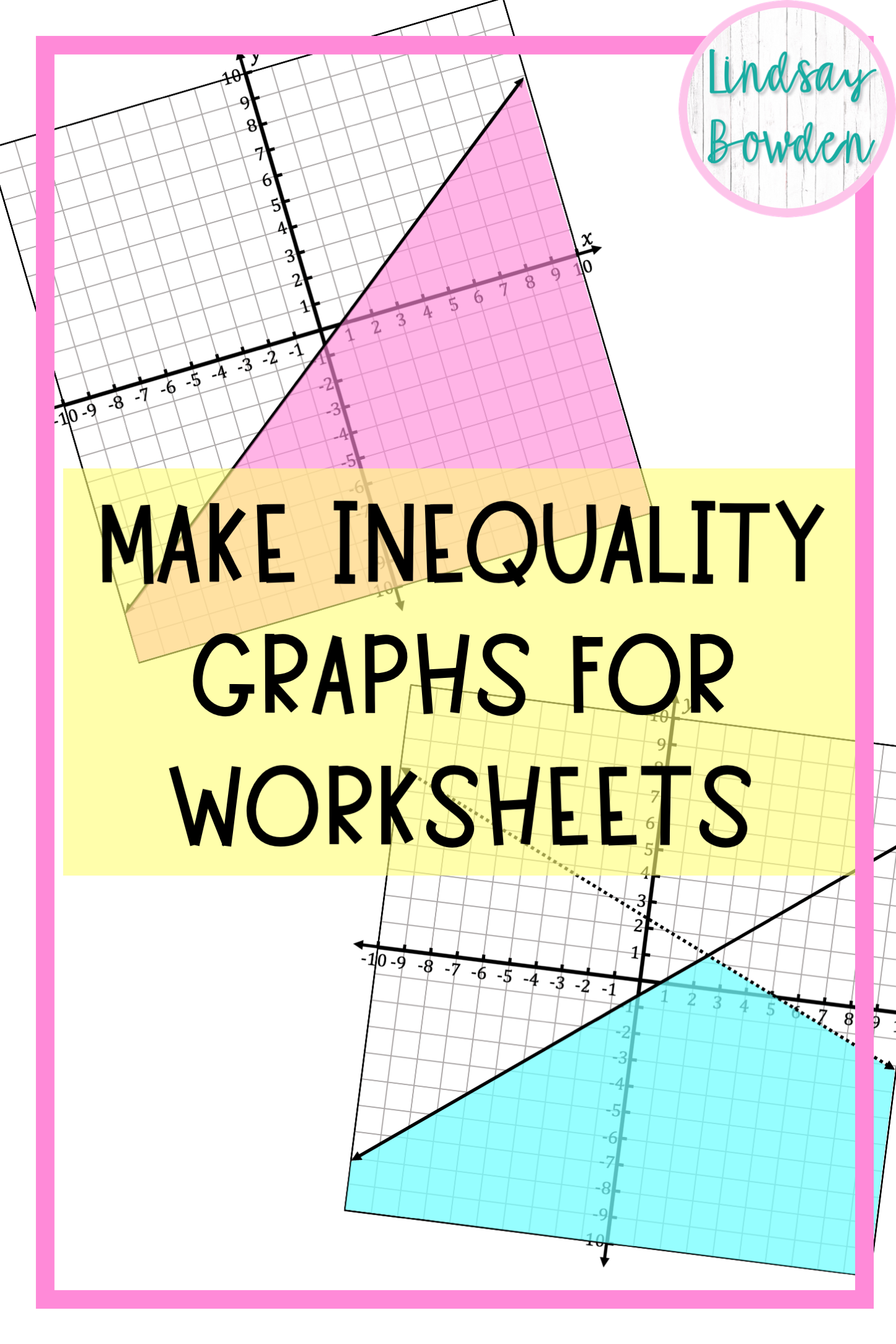 How to Make Inequality Graphs for Math Worksheets in 2020