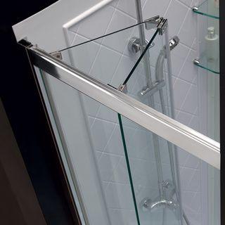 Dreamline Butterfly 34 35 5x72 Inch Frameless Bi Fold Shower Door Overstock Com Shopping The Best Deals Shower Doors Bifold Shower Door Glass Shower Doors