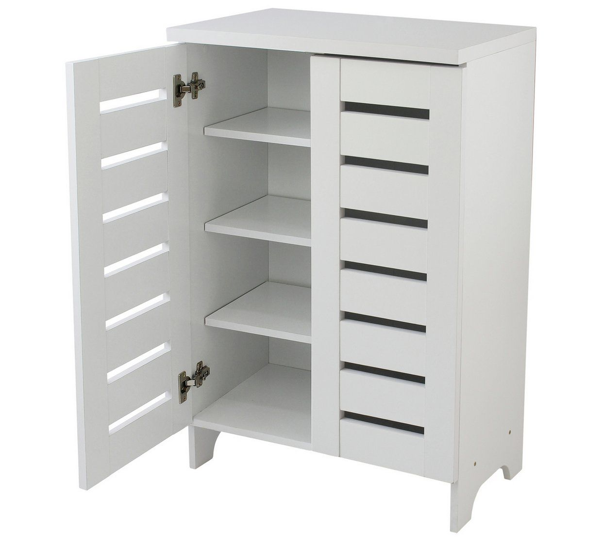 Buy Argos Home Slatted 2 Door Shoe Storage Cabinet White Shoe Storage Argos Shoe Storage Cabinet Entryway Closet Shoe Storage Shoe Storage Cabinet