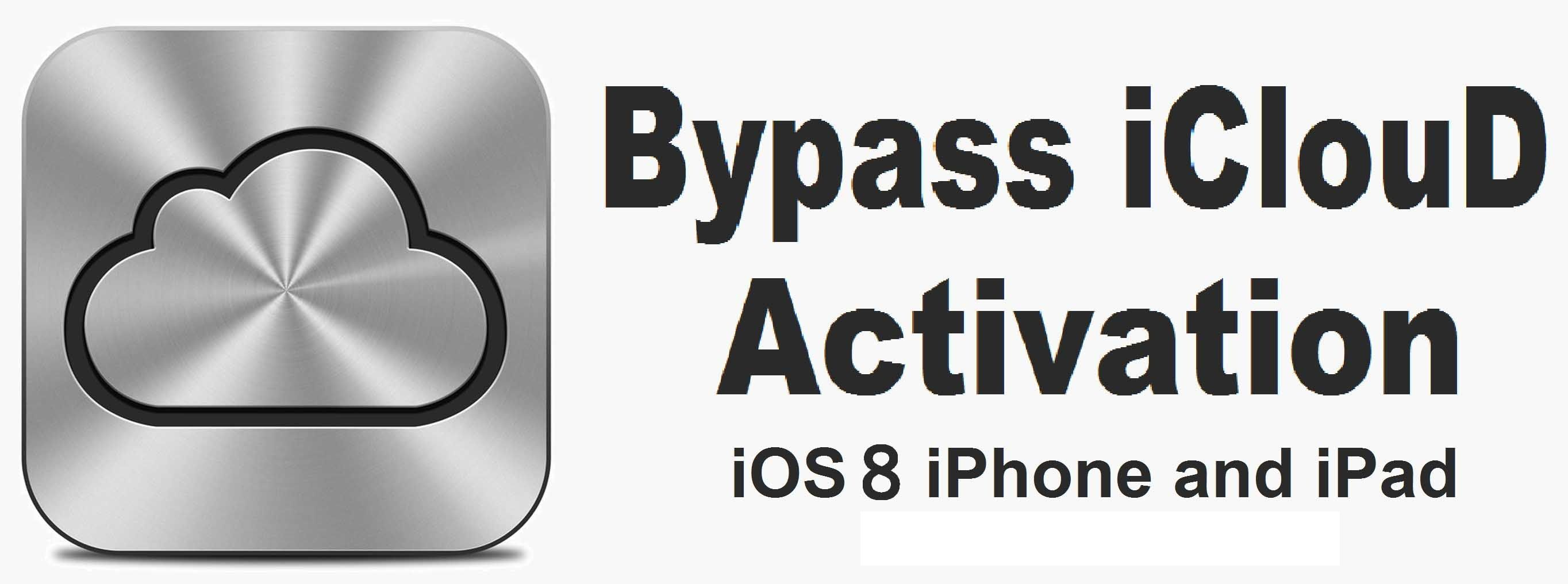 Remove iCloud lock for free using iCloud bypass activator