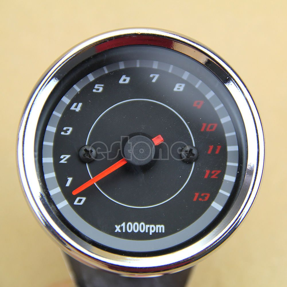 details about 0 13000rpm led backlight universal motorcycle 0 13000rpm led backlight universal motorcycle tachometer speedometer tacho gauge