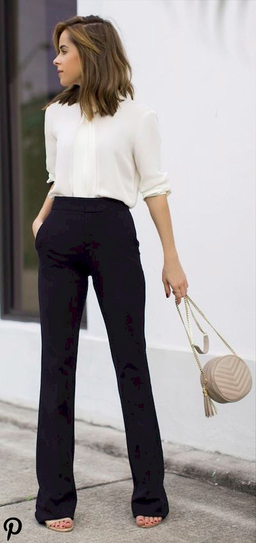 35 Elegant Work Outfits Every Woman Should Own As we prepare to work in the morning our minds are u 35 Elegant Work Outfits Every Woman Should Own As we prepare to work i...