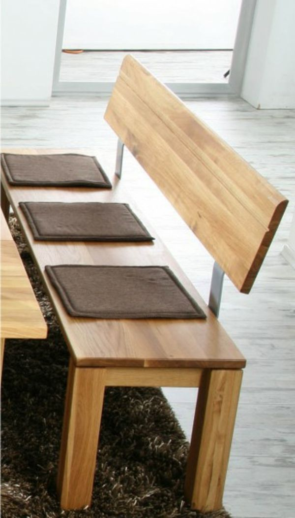 Nett Sitzbank Esszimmer Holz Haus Bancos