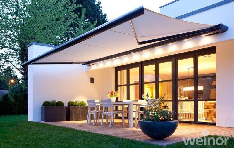 Weinor Zenara Patio Shade Modern Patio Garden Awning