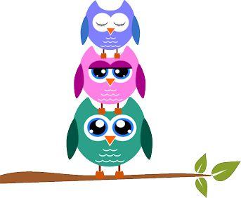 owl clipart owl family owl and scrapbooks rh pinterest co uk cute owl clipart free Owl Silhouette Clip Art Free
