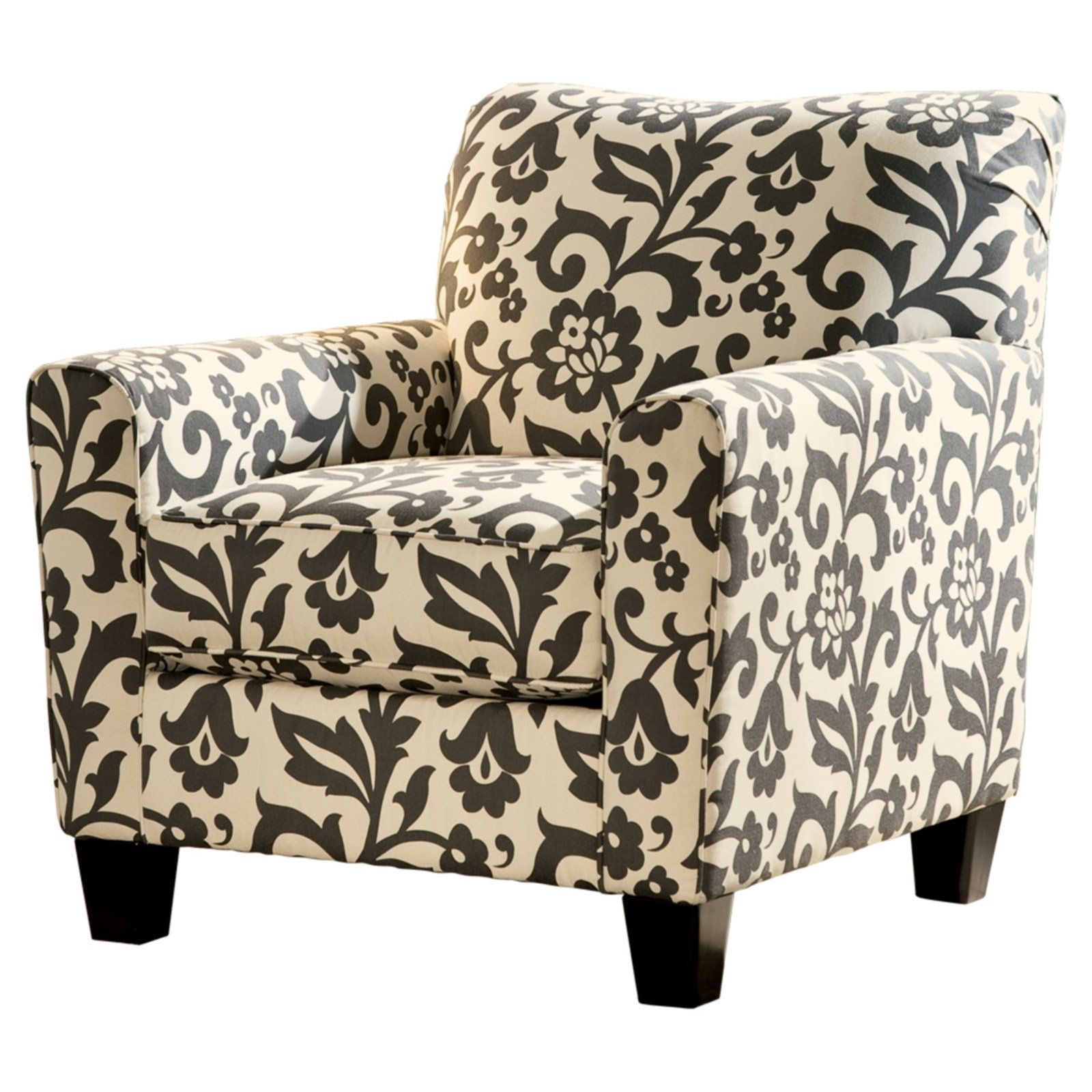 Signature Design By Ashley Levon Floral Accent Chair Accent