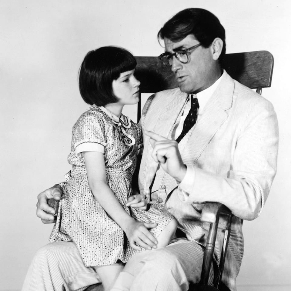 Scout and Atticus, To Kill A Mockingbird To kill a