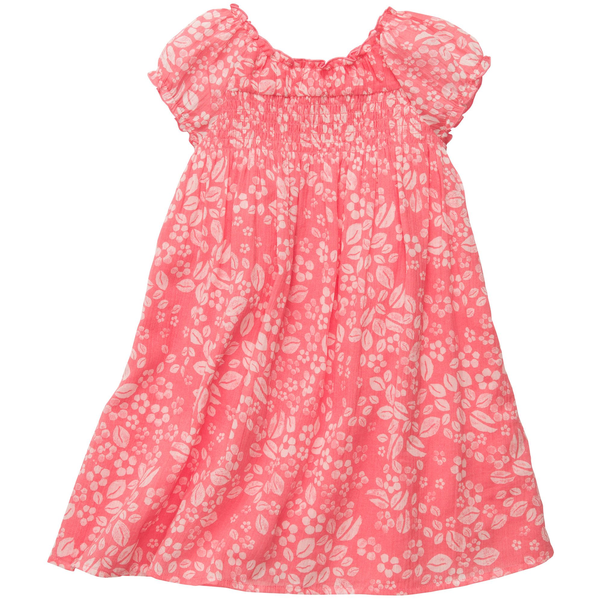Crinkle Cotton Lawn Dress Baby Girl Dresses