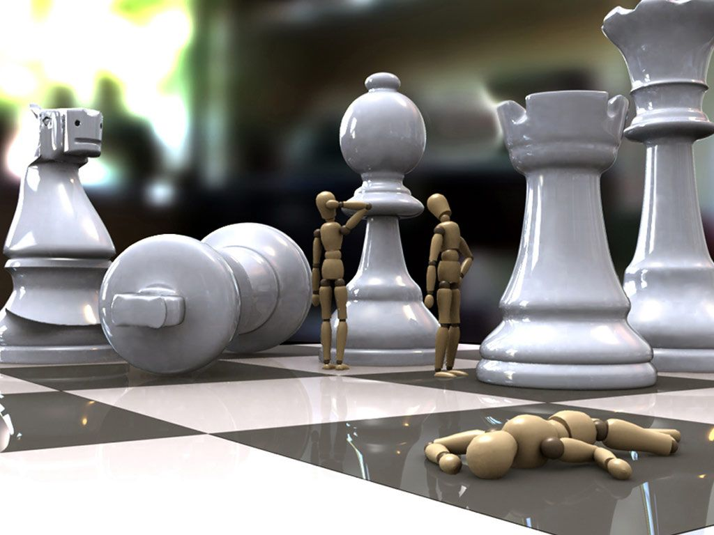 Chess Art Chess Board Battle Chess Funny Wallpapers