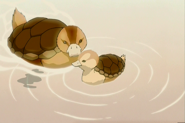 turtle ducks 100% sure this is from Avatar:The Last